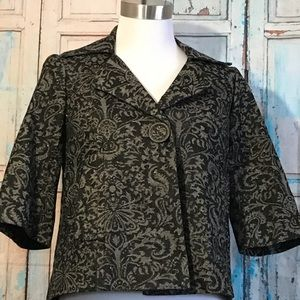 Harold's Damask Print Tapestry Look Jacket